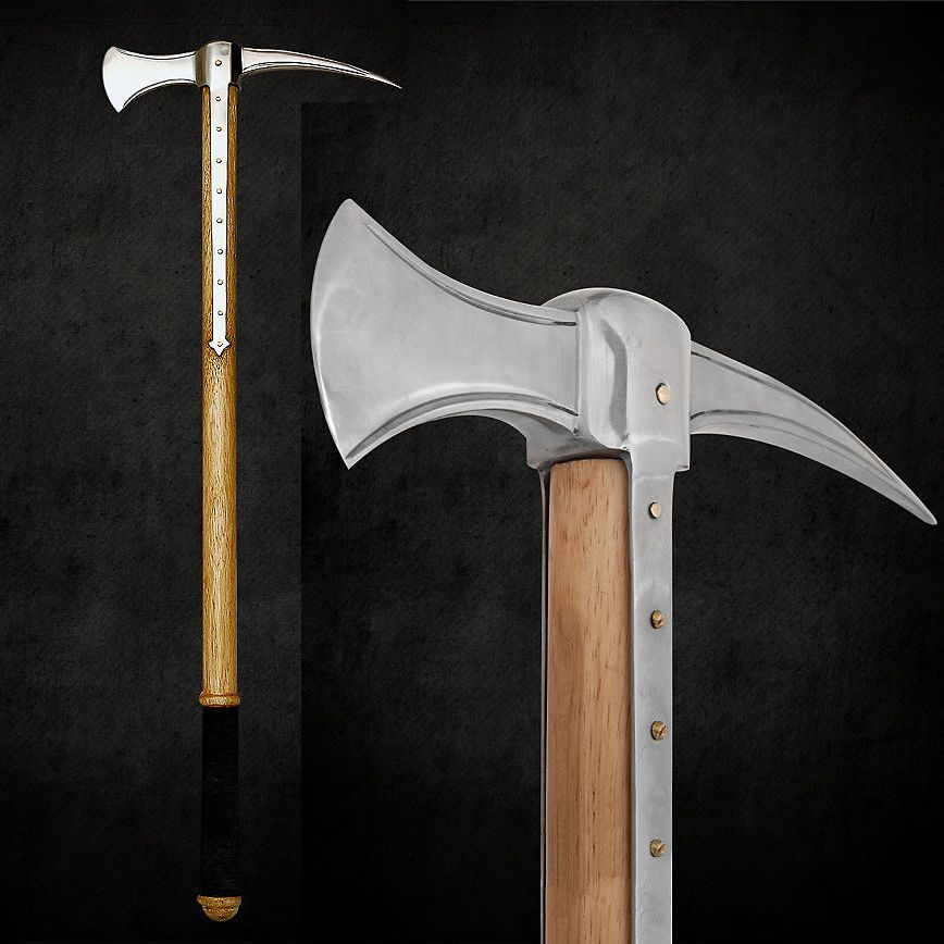 Letter Before Action >> Late Medieval Battle Axe